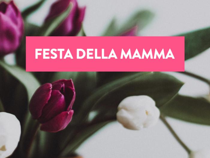 Offerta Maggio Festa della Mamma